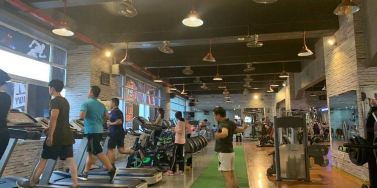 Phòng tập gym Aesthetic Ultimate Fitness Cầu Giấy