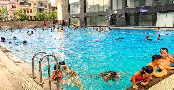 Bể bơi cao cấp ngoài trời Long Khánh