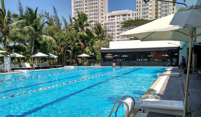 bể bơi ở tp.hcm