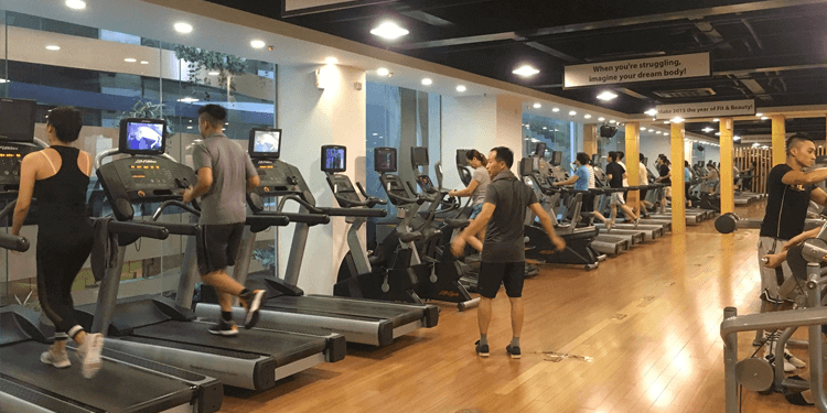 Phòng tập Leo Fitness Center