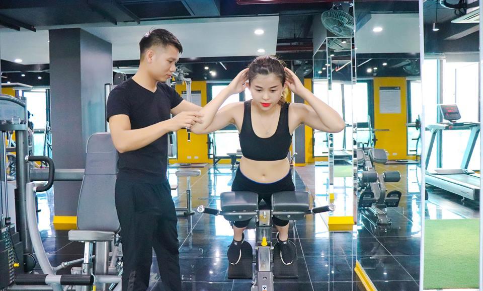 phòng tập gym ở Long Biên