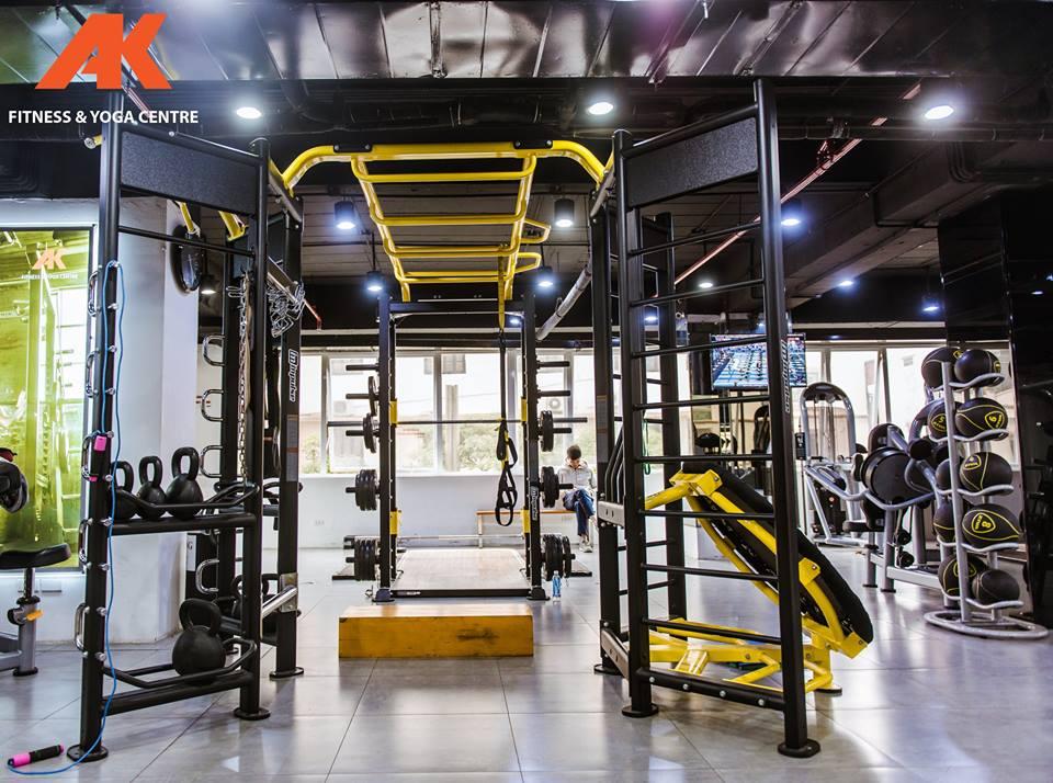 phòng tập gym quận thanh xuân