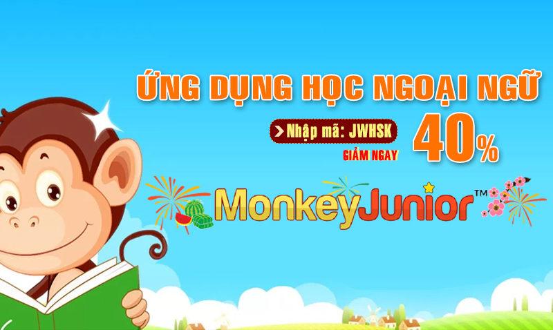 học tiếng anh monkey