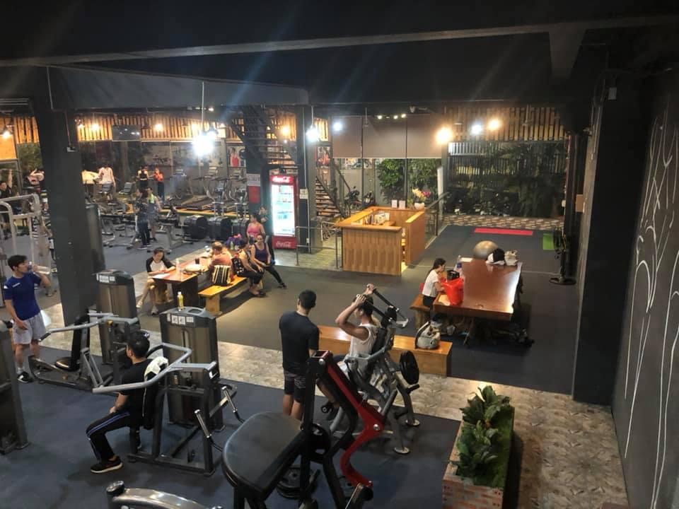 phòng tập Hoàng Tần Fitness - Bình Thạnh