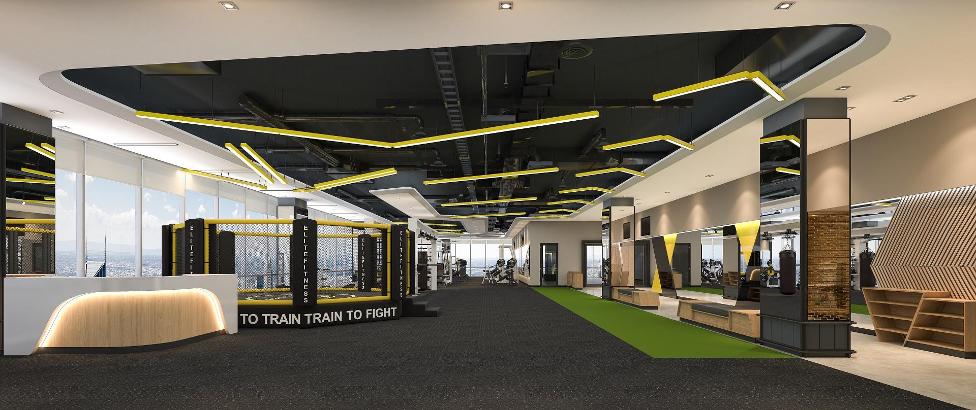 Phòng tập Elite Fitness Thảo Điền