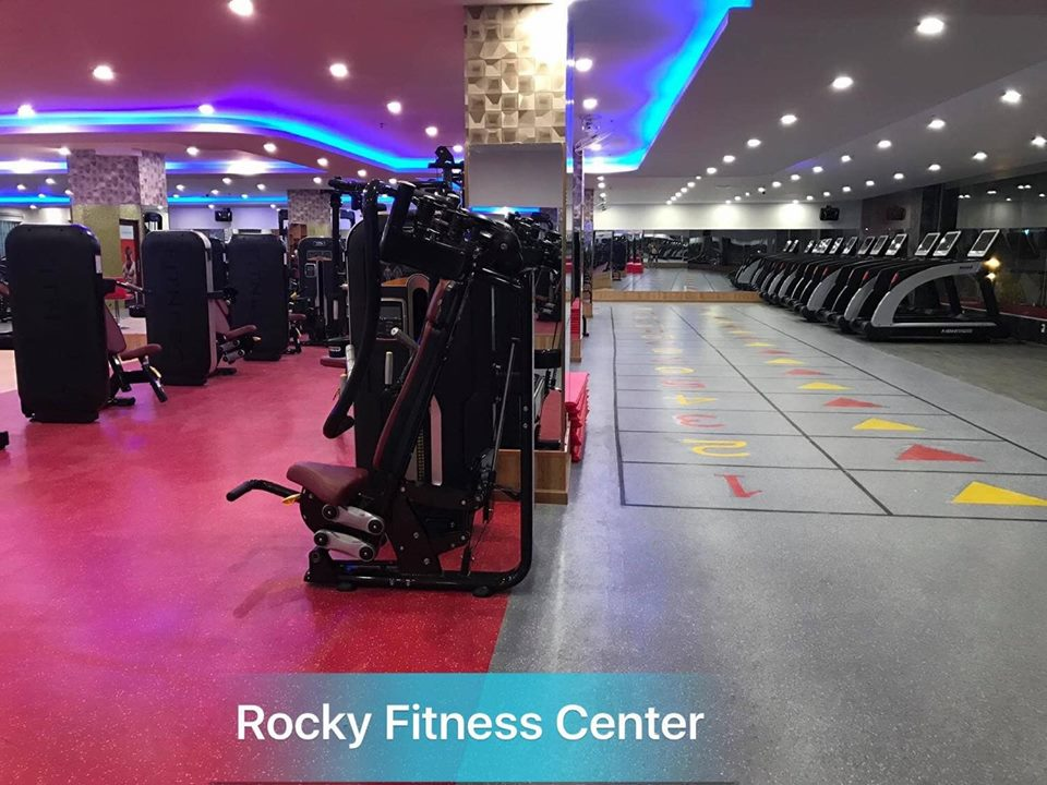 review phòng tập Rocky fitness center
