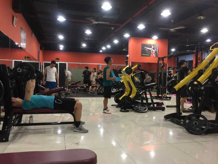 phòng tập gym quận nam từ liêm