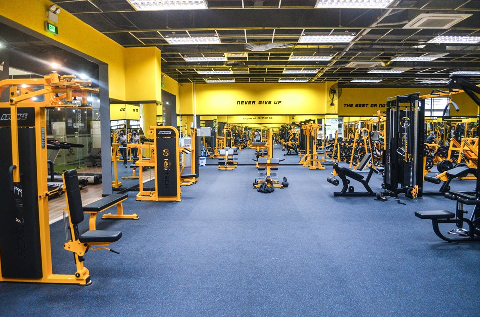 phòng tập Advance Fitness & Gym - Quận 1