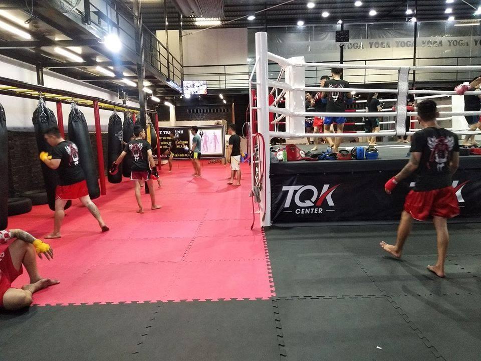 Phòng tập TQK Fitness Center quận 2