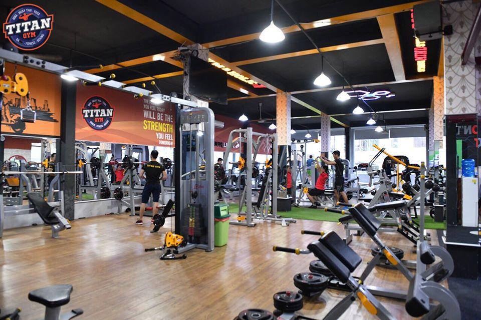 Phòng tập gym quận 6