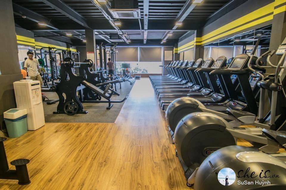 phòng tập gym quận 10