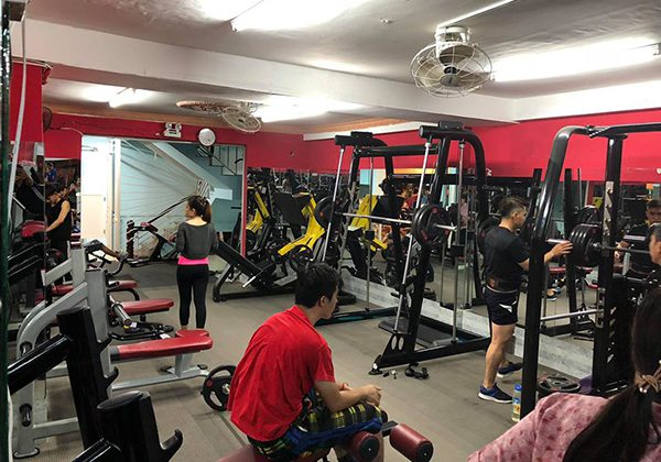 Phòng tập Sweat Fitness and Yoga quận 9