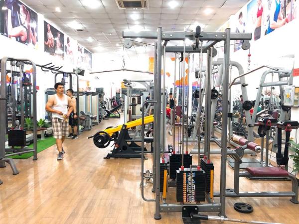 Phòng tập gym quận Bình Chánh