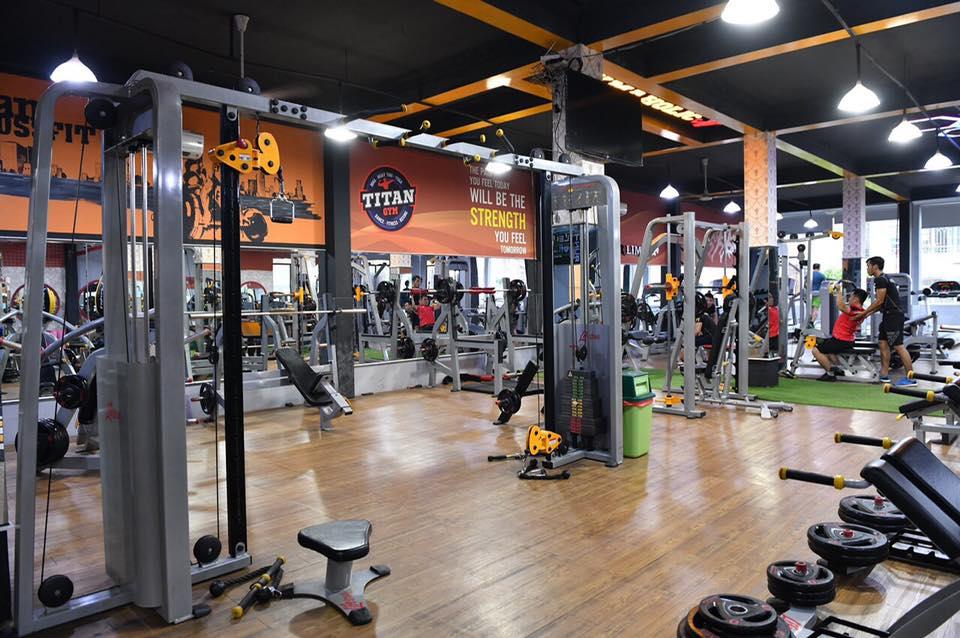 phòng tập titan gym bình phú và bình tân
