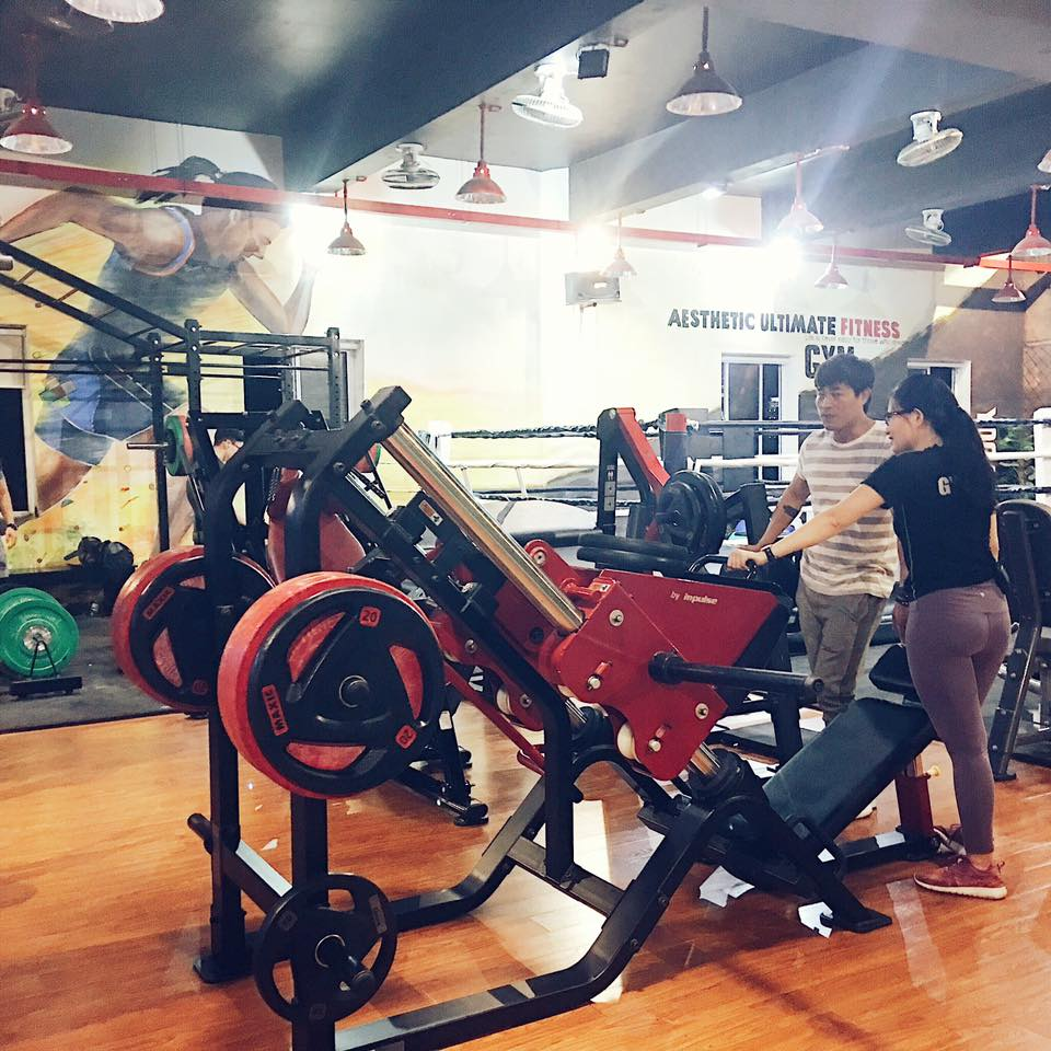 phòng tập Aesthetic Ultimate Fitness