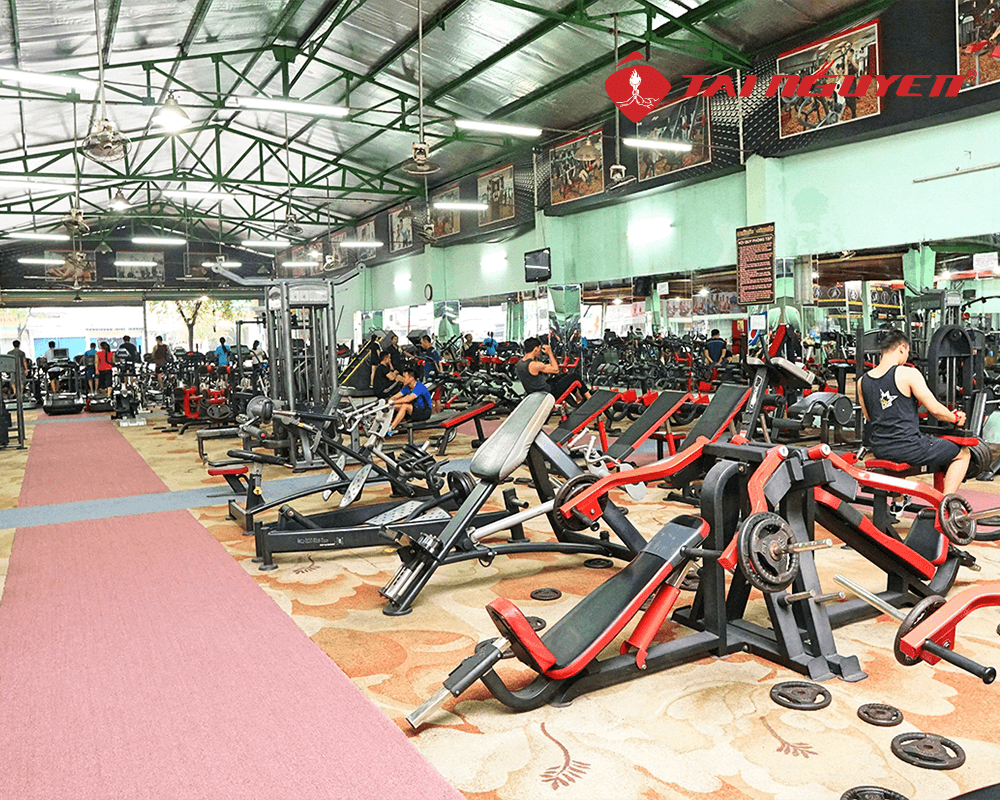 phòng tập gym tài nguyên