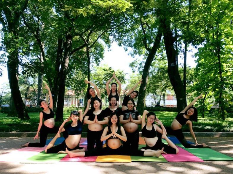 phòng tâp yoga quận cầu giấy