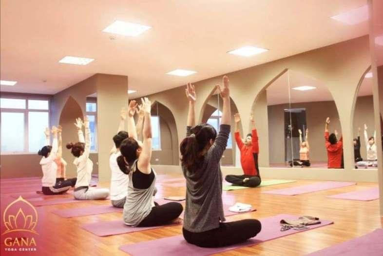 phòng tập yoga cầu giấy