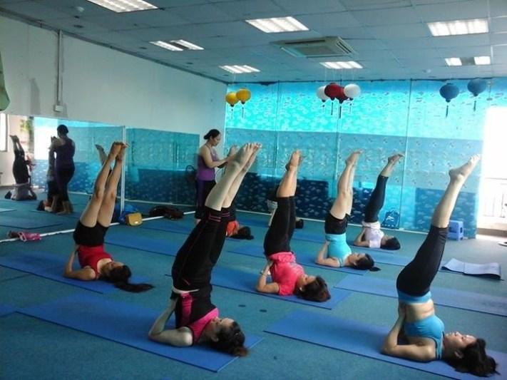 phòng tập yoga quận cầu giấy