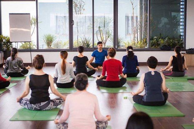 Phòng tập yoga ở Thanh Xuân
