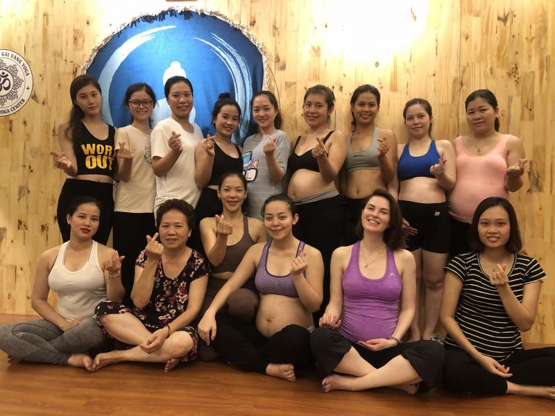 địa chỉ tập yoga ở Ba Đình
