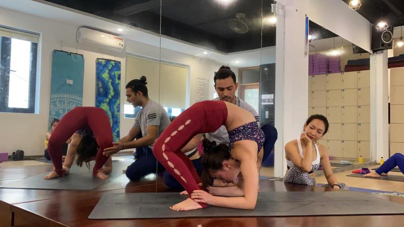địa chỉ tập yoga quận ba đình