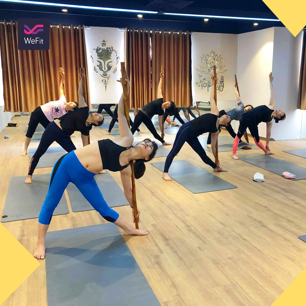 phòng tập yoga quận 2 bà trưng
