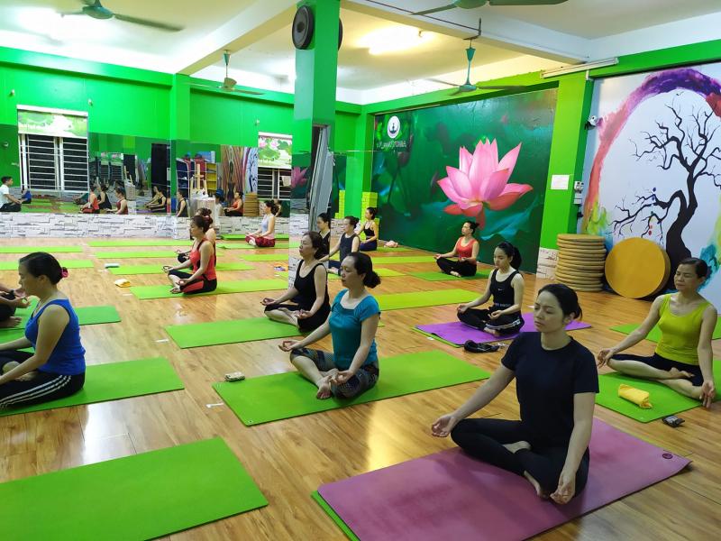 phòng tập yoga quận hai bà trưng
