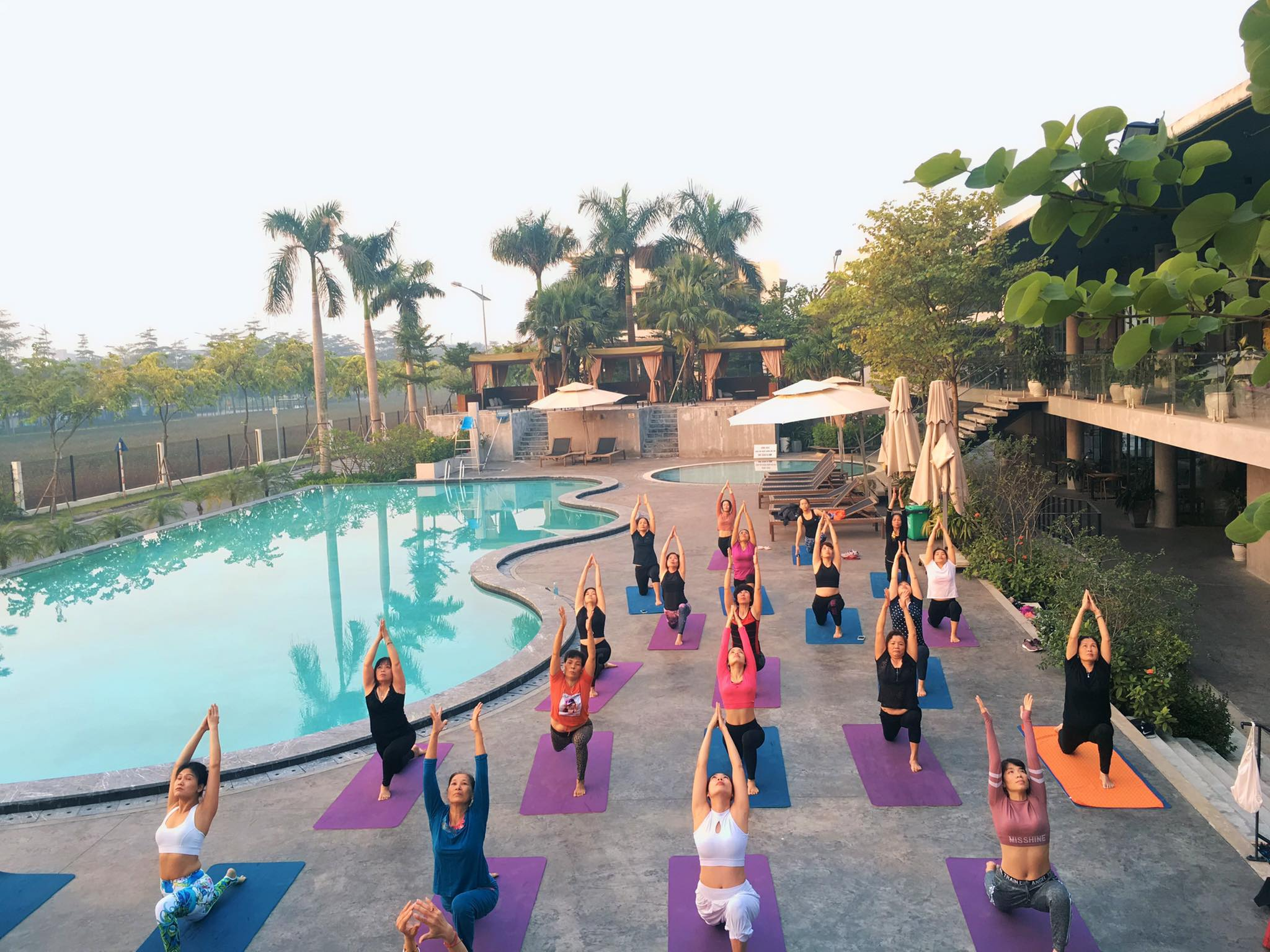 phòng tập yoga quận Long Biên