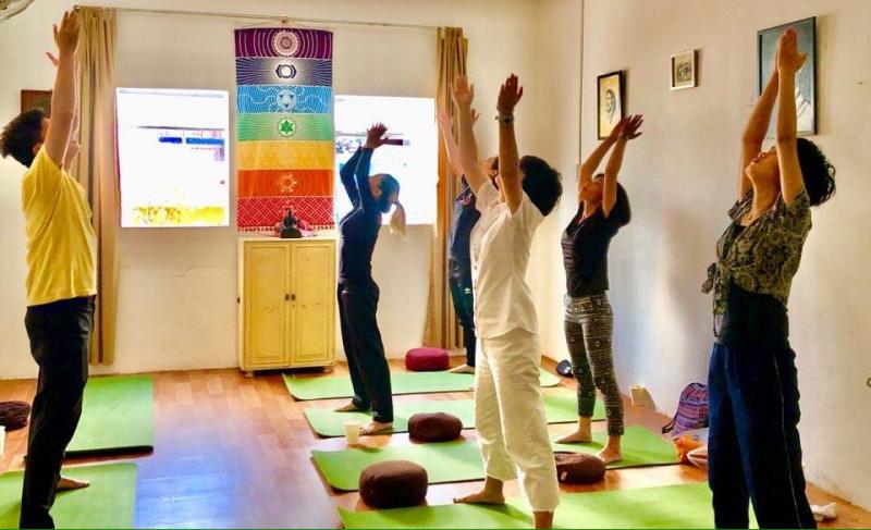 phòng tập Yoga quân 1