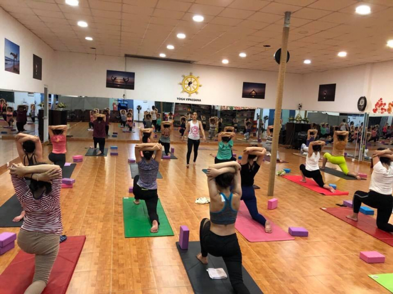 Phòng tập Yoga Vipassana quận 2