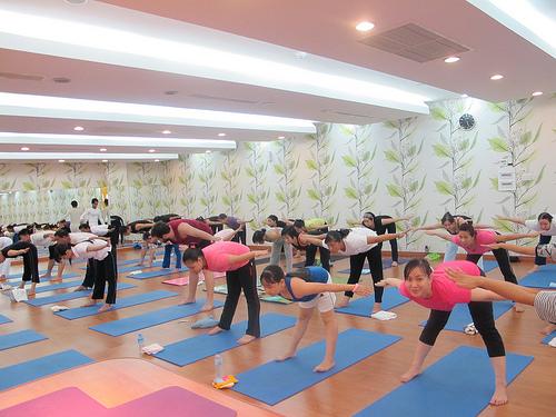 phòng tập yoga uy tín ở tp.hcm