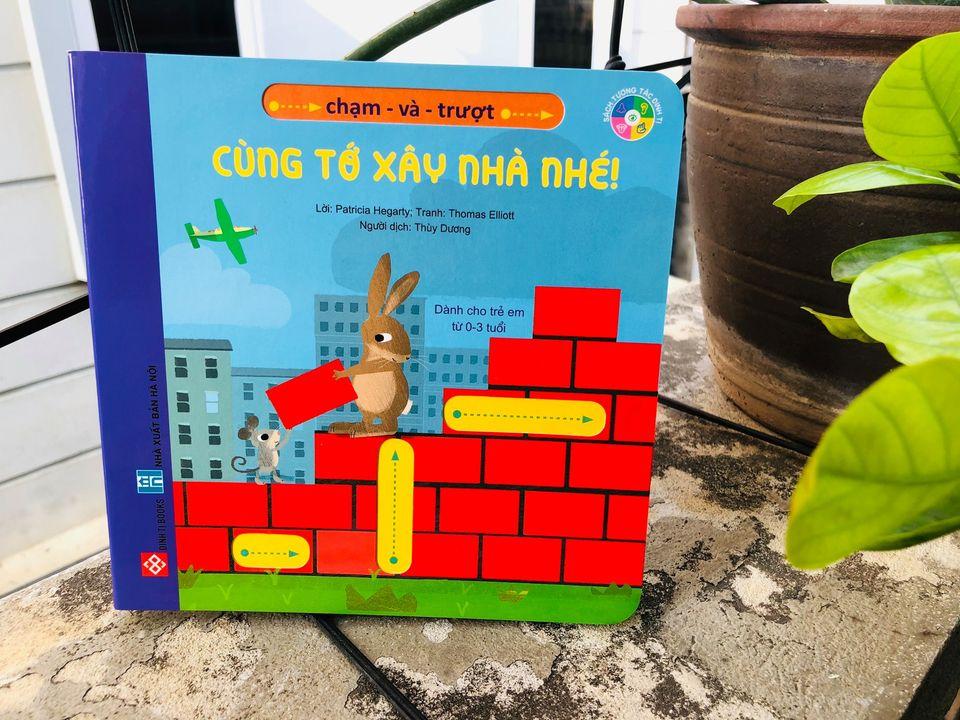 sách tương tác cho bé từ 0-3 tuổi
