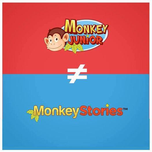So sánh Monkey Junior với Monkey Stories