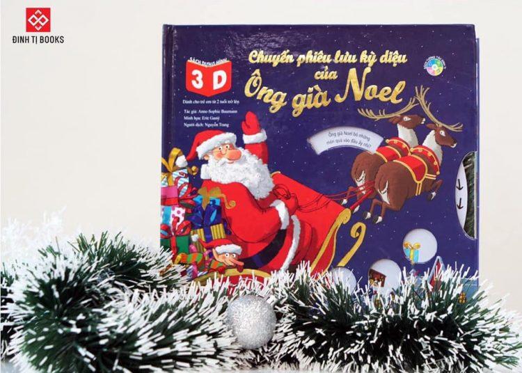 Sách dựng hình 3D - Chuyến phiêu lưu kỳ diệu của Ông già Noel